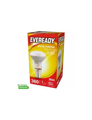 2 x 30w Eveready LED spot reflector bulb SES