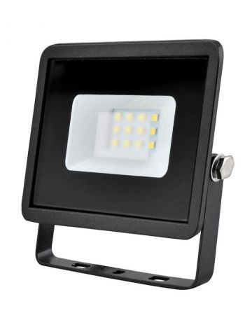 Eveready Black 10w LED Floodlight - Cool White / 4000k