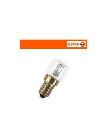 5 x 15w Osram SES Oven Light bulb 240v 300 degree resistant