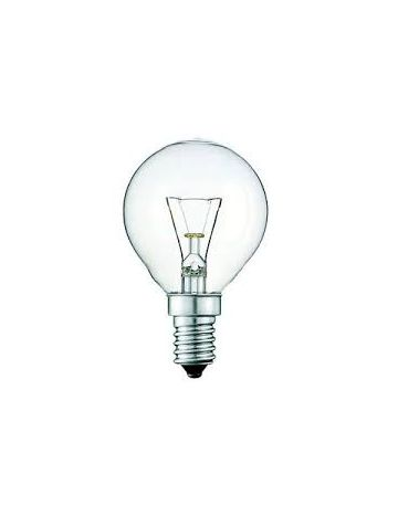 60w Eveready Opal Golf Ball Bulb SES E27 Cap