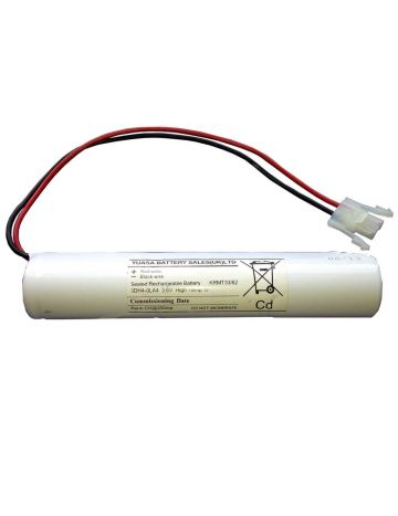 Yuasa Rechargeable D cell 4ah Ni-Cd Emergency battery