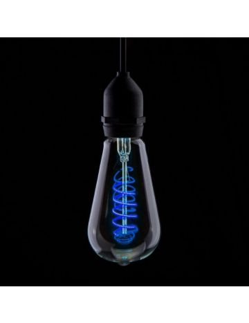 Prolite 4w LED ST64 Blue Funky Filament Bulb – Edison Screw / E27
