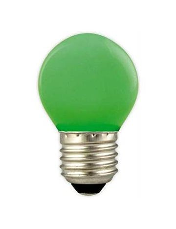 GE 15w Green Coloured Golf Ball Lamp – Edison Screw Cap / E27 (240v)