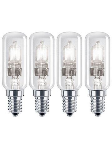 4 x Eveready 28w = 38w Halogen Cooker hood bulb E14 SES Small Edison Screw 40w