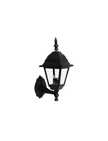 4 Sided Garden Outdoor Wall Lantern LED Bulb