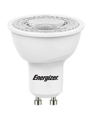 Energizer 5.8w (=60w) LED GU10 Spotlight Bulb - 36° Beam Angle (Warm White / 3000k)