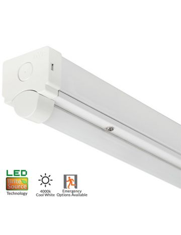 5ft 60w Brite Source 7200 Lumen Twin Indoor IP20 Batten Fitting - 4000k Cool White
