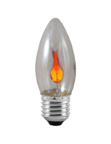 Eveready 3w Flicker Flame Candle Bulb – Edison Screw / ES