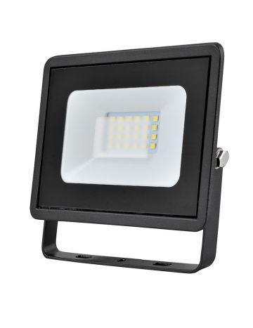 Eveready Black 20w LED Floodlight - Cool White / 4000k