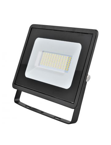 Eveready Black 30w LED Floodlight - Cool White / 4000k
