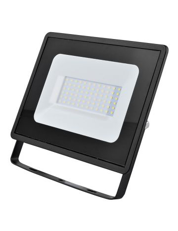 Eveready Black 50w LED Floodlight - Cool White / 4000k