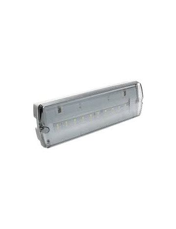 LED emergency maintained/ non maintained bulkhead
