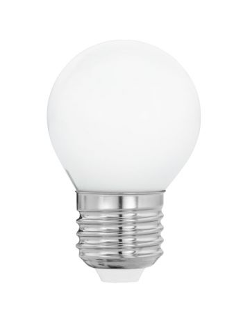 Eveready 6w (=40w) LED Opal Golf Ball Lamp – Edison Screw (Warm White / 3000k)