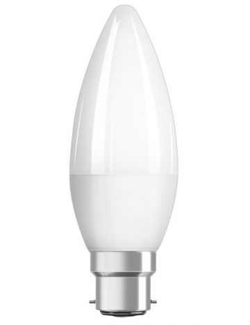 Eveready 6w (=40w) LED Candle Bulb - Bayonet Cap (Warm White / 3000k)