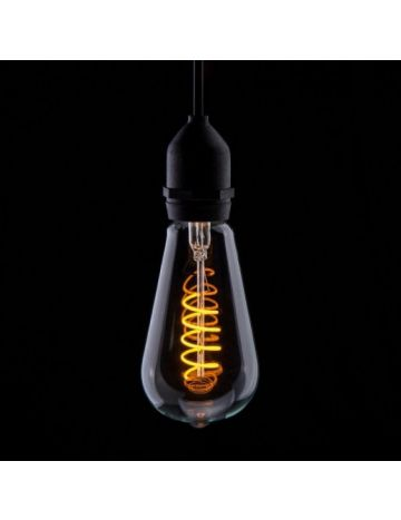 Prolite 4w LED ST64 Yellow Funky Filament Bulb – Edison Screw / E27