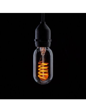 Prolite 4w LED Clear T45 Yellow Filament Bulb – Edison Screw / E27