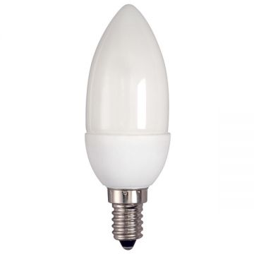 Bell Energy Saving 9w (40w Equivalent) SES Cap - Extra Warm White Candle Bulb