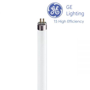 GE 24w T5 - High Output Triphosphor Fluorescent Tube 549mm - Colour Warm White