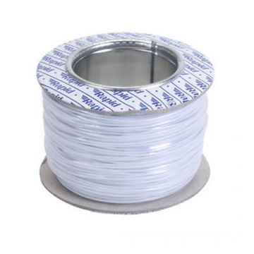 1/0.8mm Single Solid Ballast Wire Cable Per 100m Roll white (R)