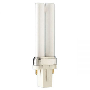 GE 5w Biax-S G23 Cap Extra Warm White Colour - 827 - Compact Fluorescent Lamp