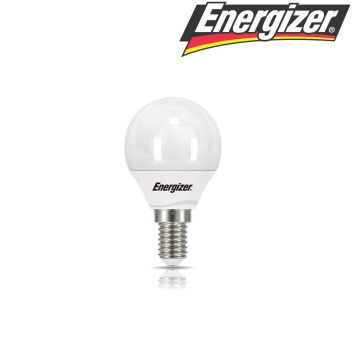 Energizer 5.9w = 40w LED Golfball Small Edison Screw (SES) Opal - 6500k (S9414)