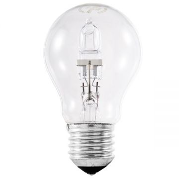 48w (60w) Halogen GLS (A60) Light Bulb E27 ES Edison Screw (Eveready S10135)