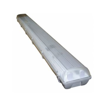 Brite Source Damp pan IP65 1.20 m T8 double light bar incl. LED tubes 4000k cool white
